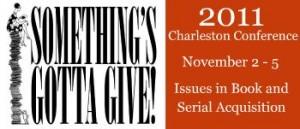 Charleston Conference 2011