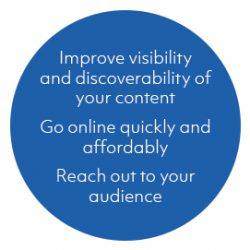 Ingenta Open helps improve the visibility and discoverability of your content