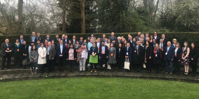 Some of the attendees at the International Publishing Symposium 2018