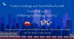 Festive Greetings from Ingenta and PCG – 17 Dec 2010