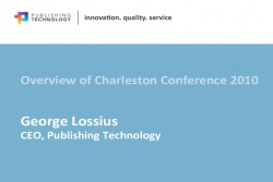 Charleston Preview: Procuring electronic content