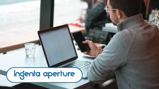 Ingenta aperture share sensitive information securely